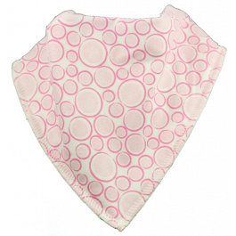 Bubbles Single Bandana Bib