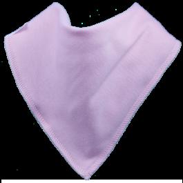 bandana bib candyfloss pink