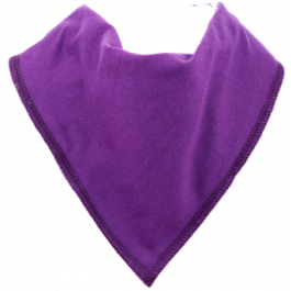 Grape Juice Single Bandana Bib