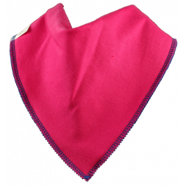 Peacock Single Bandana Bib