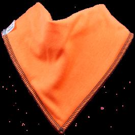 Pumpkin Single Dribble Bib