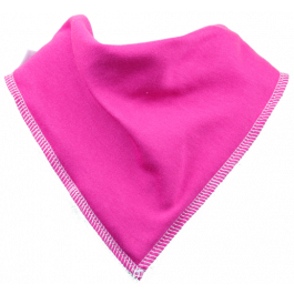 Raspberry Ripple Single Dribble Bib
