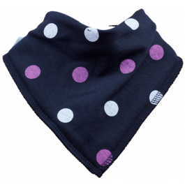 Spotty Dotty Single Bandana Bib