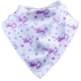 Sugarplum Fairy Single Bandana Bib