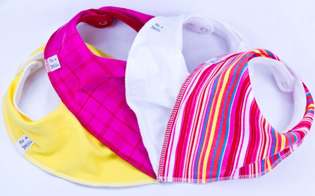 Lollipop 4 pack Bandana Bibs