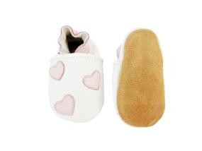 Queen of Hearts Leather Shoes 6-12 months