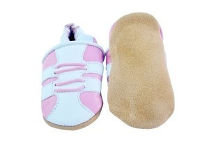 Sporty Girl Leather Shoes 0-6 months