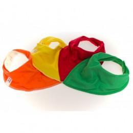 Rainbow 4 pack Bandana Bibs