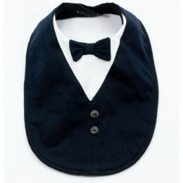 Dine With Me Tuxedo Special Occasion Bib