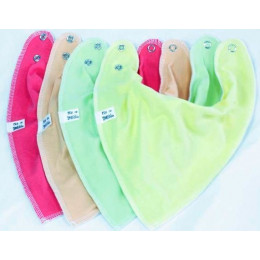 Fruit Pastel 4 pack Bnadana Bibs