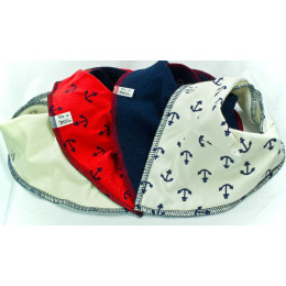 Hello Sailor 4 pack Bandana Bibs