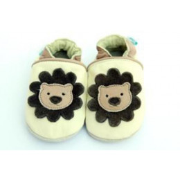 King of the Jungle Leather Shoes 0-6 months