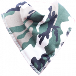 Combat kid camo pattern bib