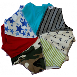 Junior 7 Day bandana bib pack