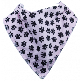 Lady Single bandana bib