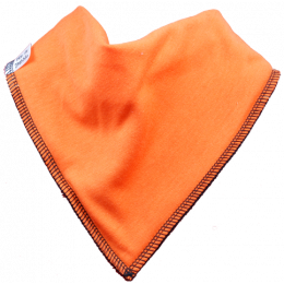 Pumpkin Single Dribble Bib
