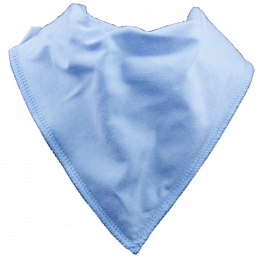 Sky Blue Single Dribble Bib