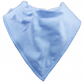 Sky Blue Single Dribble Bib