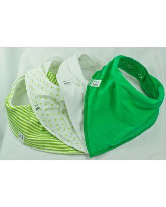 Green on Me 2 4 pack Bandana Bibs