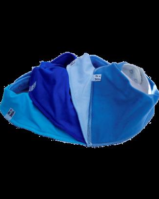 Boy Blue Bandana bibs 4 Pack